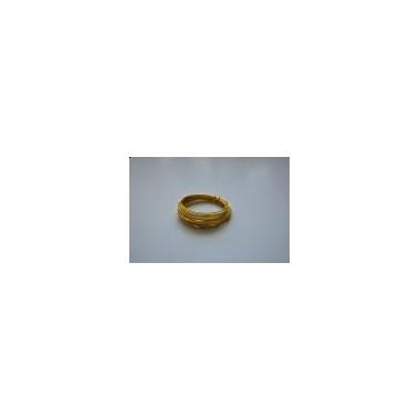 Ring aluminiowy złoty 40g