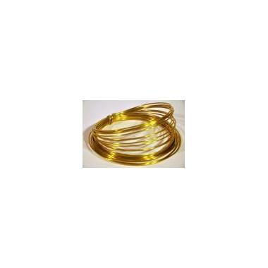 Ring aluminiowy złoty 100g