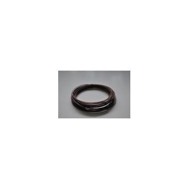 Ring aluminiowy brązowy 100g