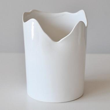 Osłonka na standardowego storczyka Bella 310/13 white PREMIUM FINE PORCELAIN