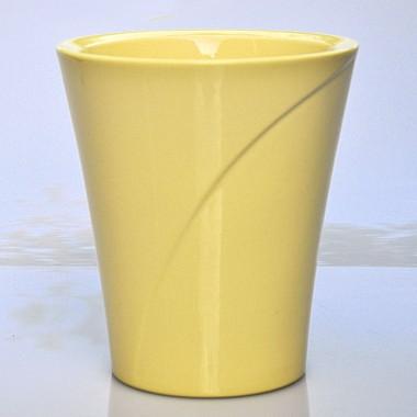 Doniczka Na Mini Storczyk 63012 Delikatny żółty La Decora
