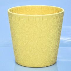 Donica Dallas 0078/14/2136 księżycowy żółty crackle