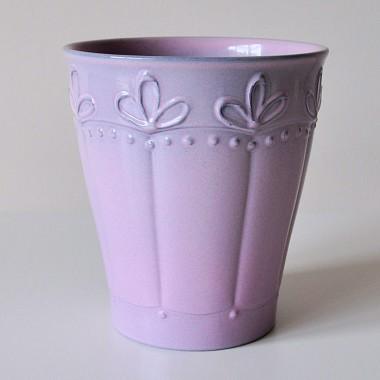 Doniczka do storczyka Portland 676/15 Różowy - Glass Rose Premium