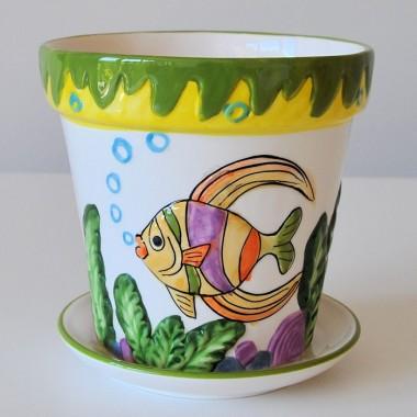 Doniczka zwierzaczek rybka