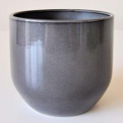 Doniczka Sintra 820/22 ciemno szary - glass grey