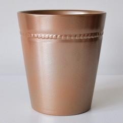 Doniczka ceramiczna do gwiazdy Toczka 662/14 miedziany - copper