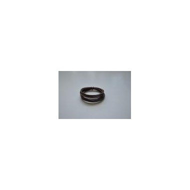 Ring aluminiowy brązowy 40g